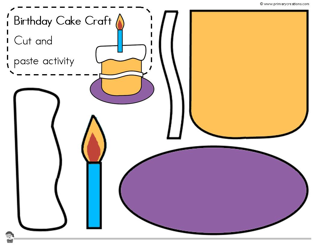 Birthday Cake Craft 2