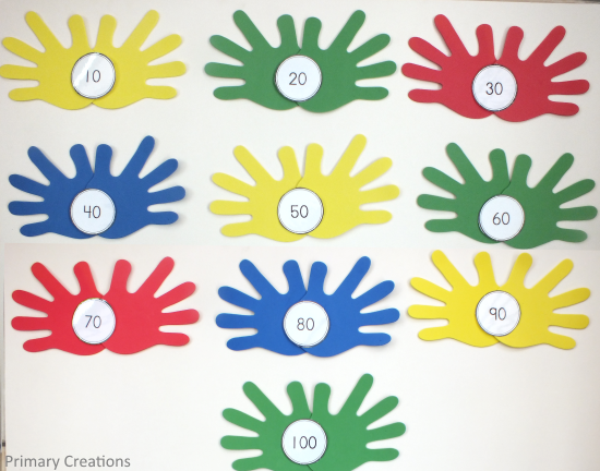 Foam Hands Maths