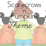 Scarecrows in the Pumpkin Patch – Preschool Pack
