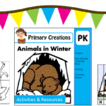 Animals in Winter – FREEBIE – PreKinder Set
