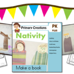 Preschool Christmas Nativity Book