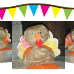 Preschool Craft – Paper Bag Turkey