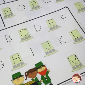 St. Patrick's Day Literacy Activities for Preschool