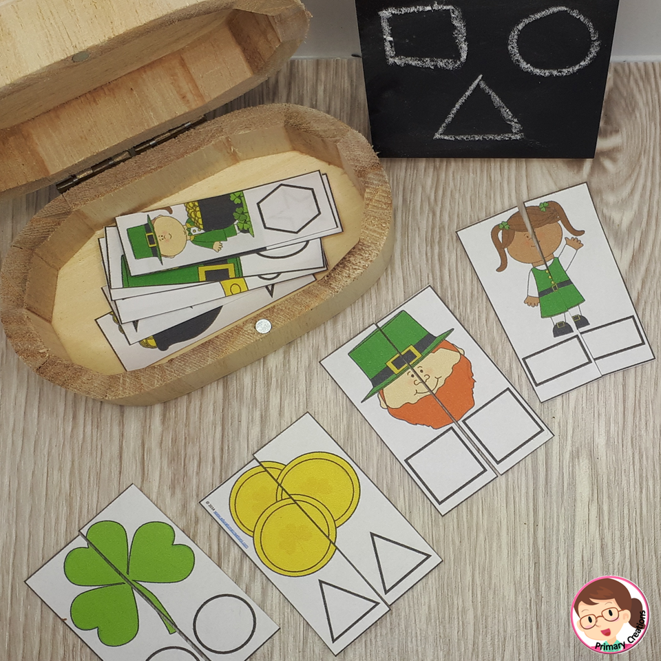 St. Patrick's Day Math Activities for Preschool