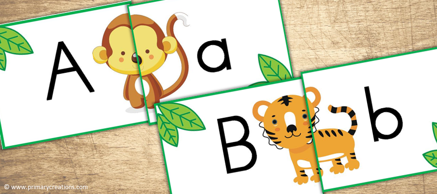 Jungle Literacy Printable Activities