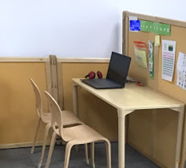 Using workstations in an autism classroom